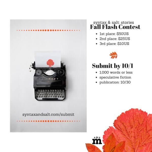 Fall Flash Contest – CLOSED