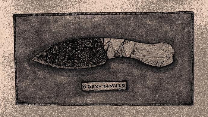 Woman's Knife * Dead Skin * Stealing Canoes by Sloan Thomas